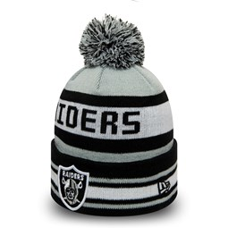 Oakland Raiders Jake Bobble Cuff Knit