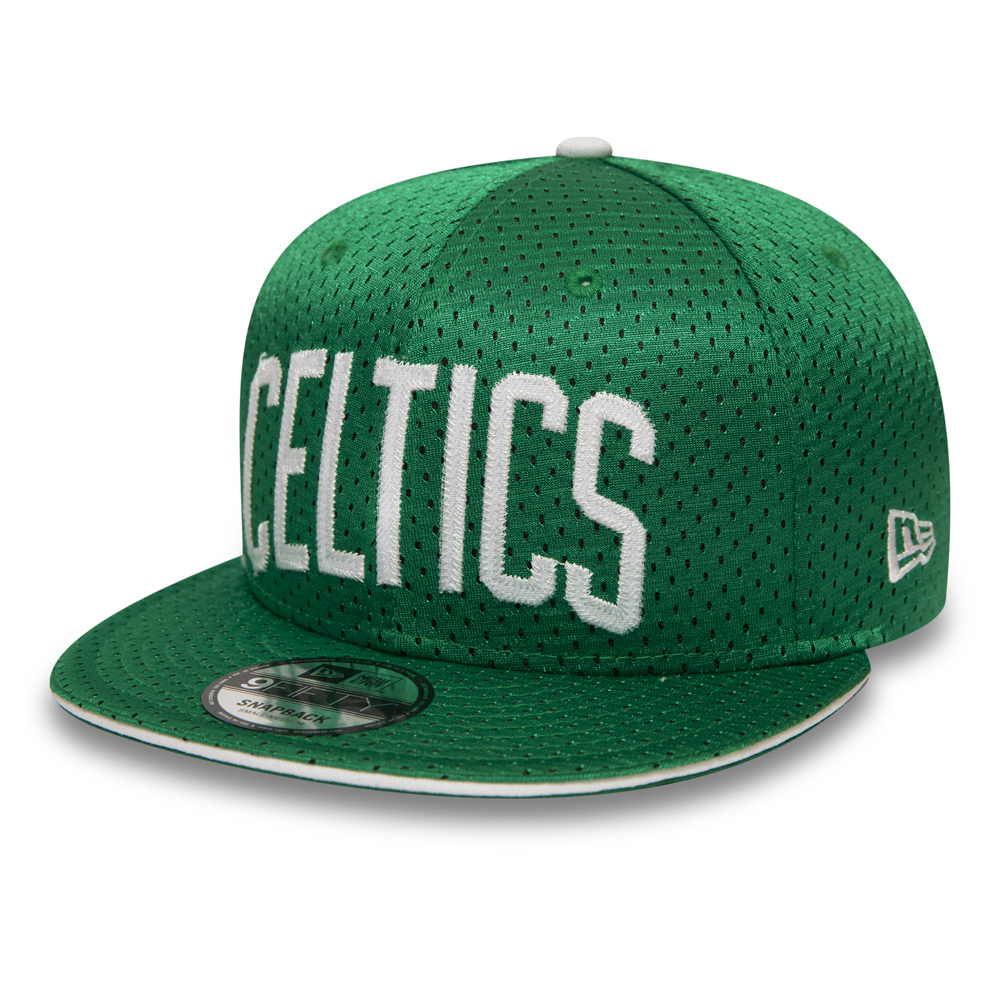 Boston Celtics Hook 9FIFTY Snapback en jersey