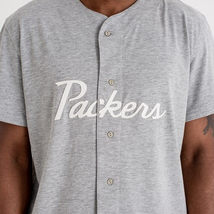 Green Bay Packers Script Button Up Tee