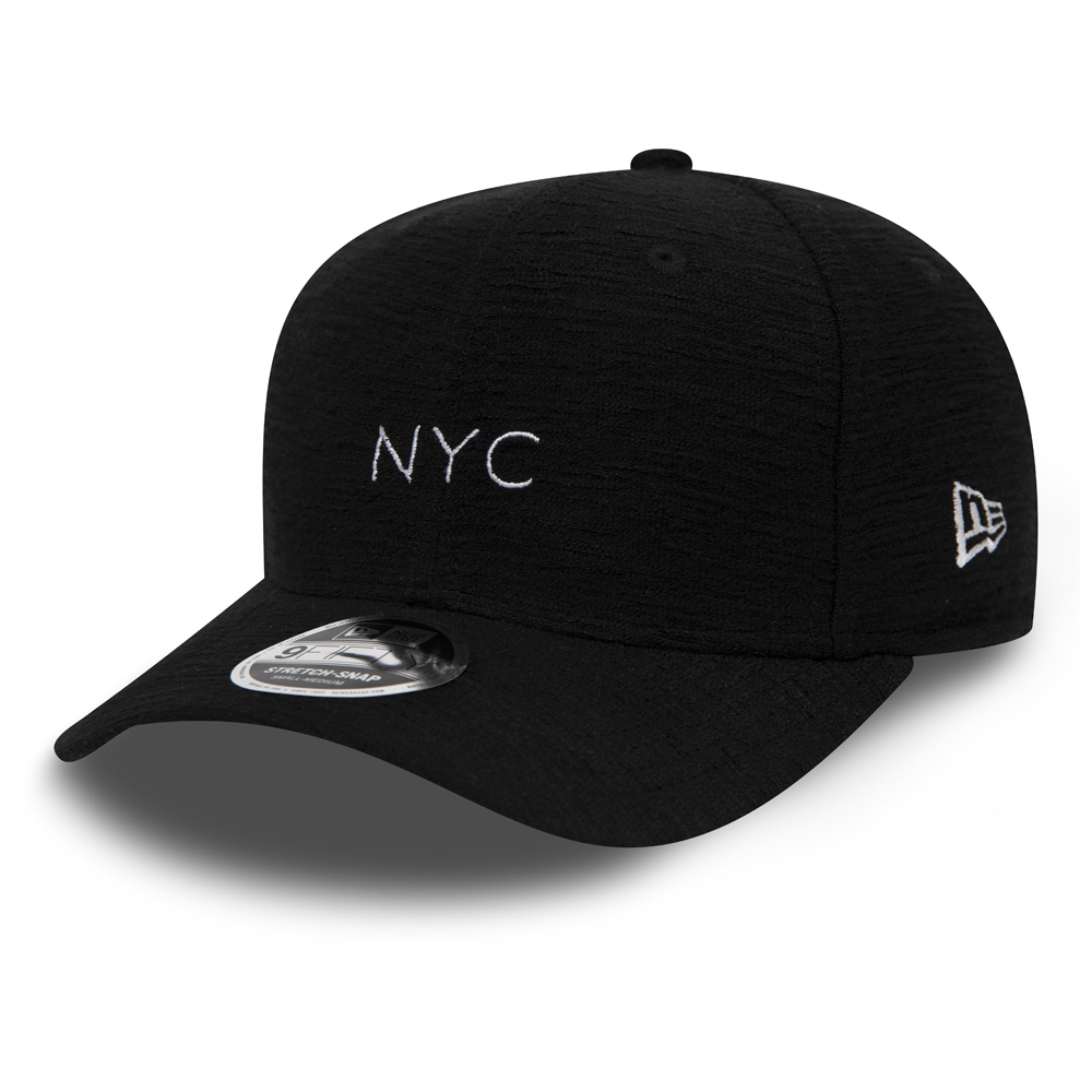 New Era Slub Stretch Snap Black 9FIFTY Snapback bb5ff7a6598