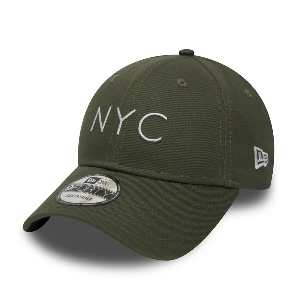 New Era NYC Essential 9FORTY, olive