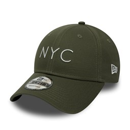 New Era NYC Essential 9FORTY verde oliva