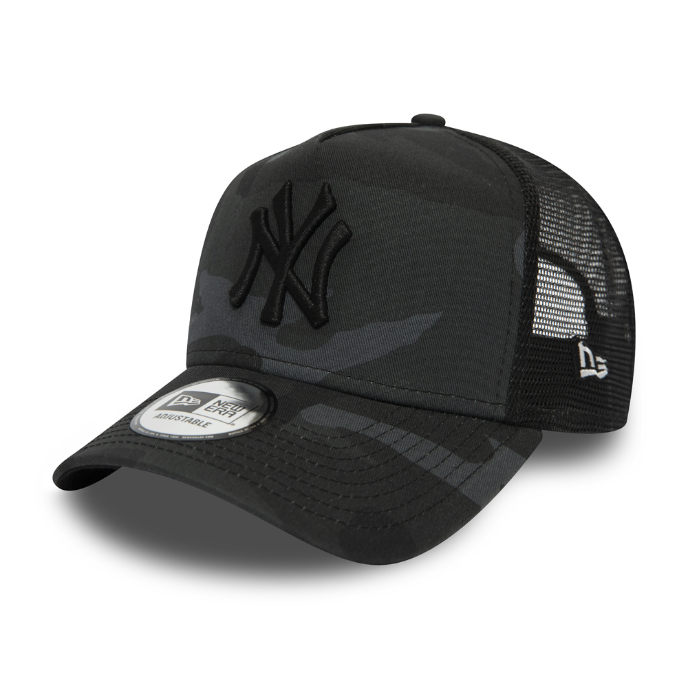 New York Yankees Essential Camo A Frame Trucker 5b0173ac269b