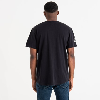 Oakland Raiders Script Button Up Tee