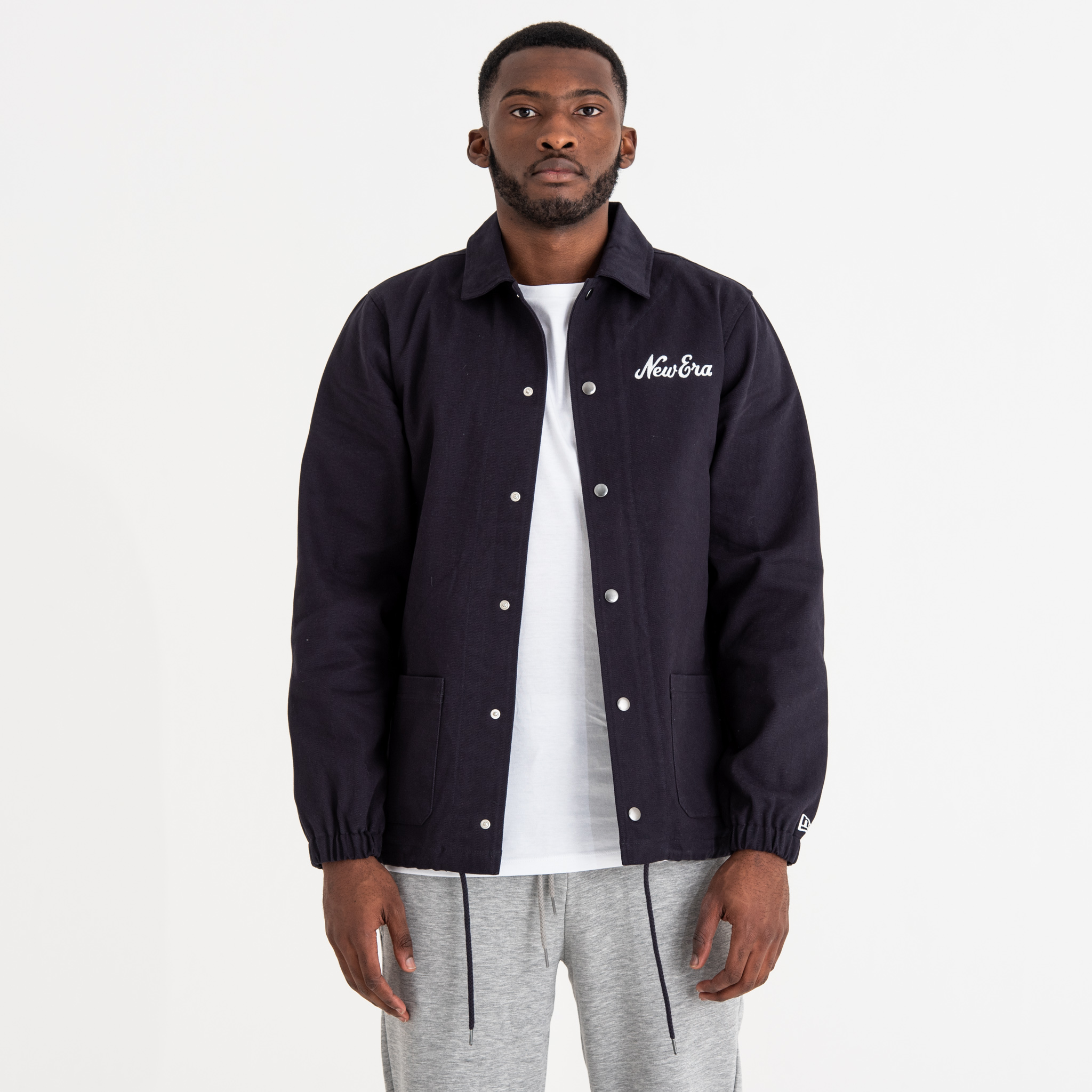 New Era Navy Coach Jacket e8403facf
