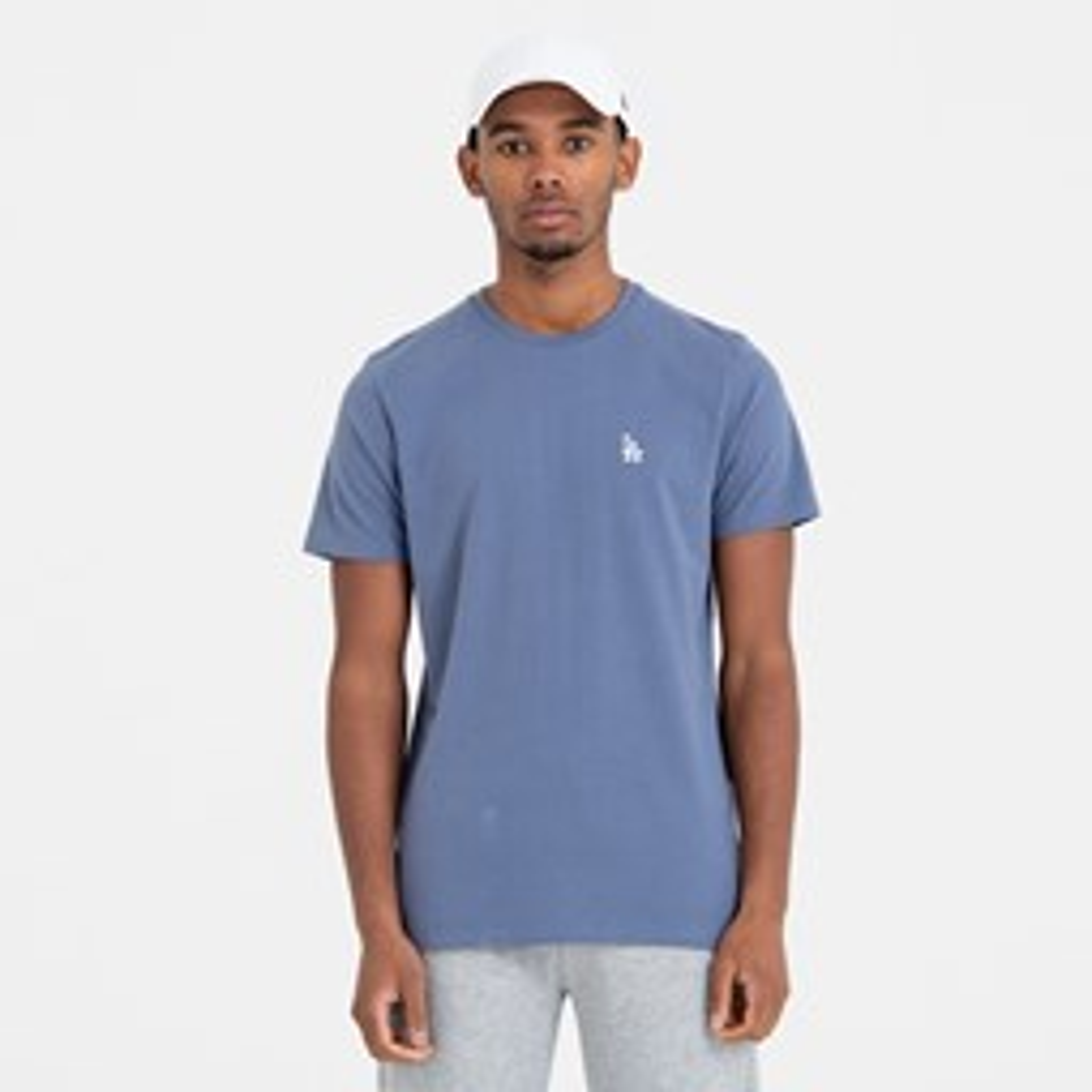 Camiseta Los Angeles Dodgers Mini Logo, azul