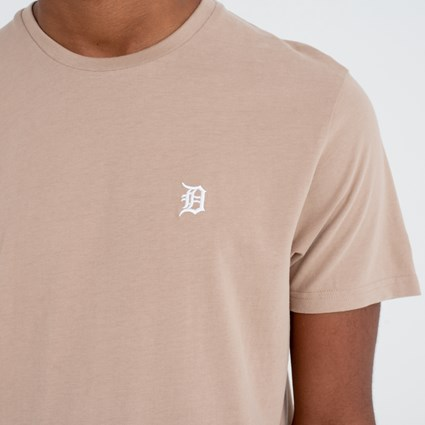 Detroit Tigers Mini Logo Camel Tee