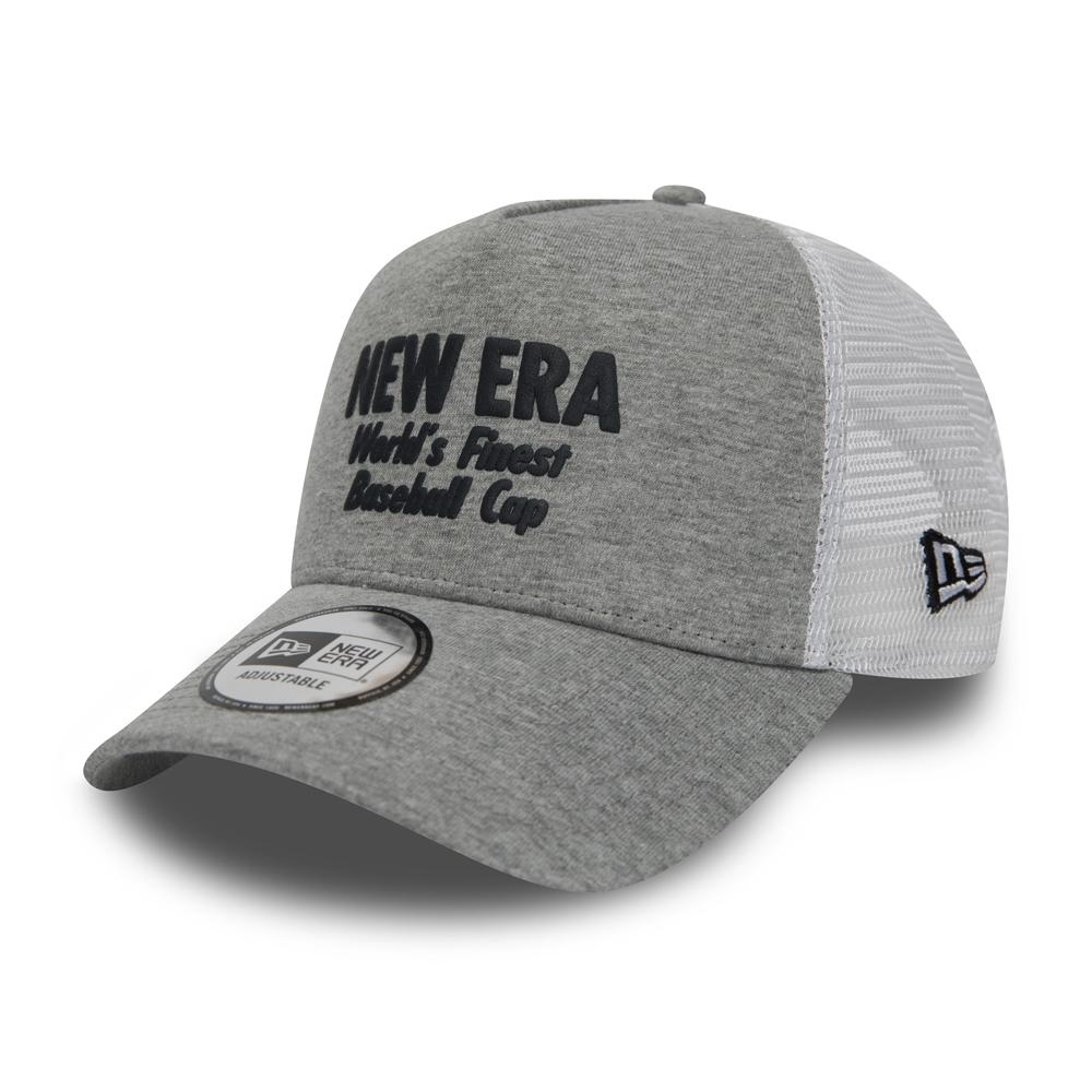 New Era Finest A Frame Trucker, gris