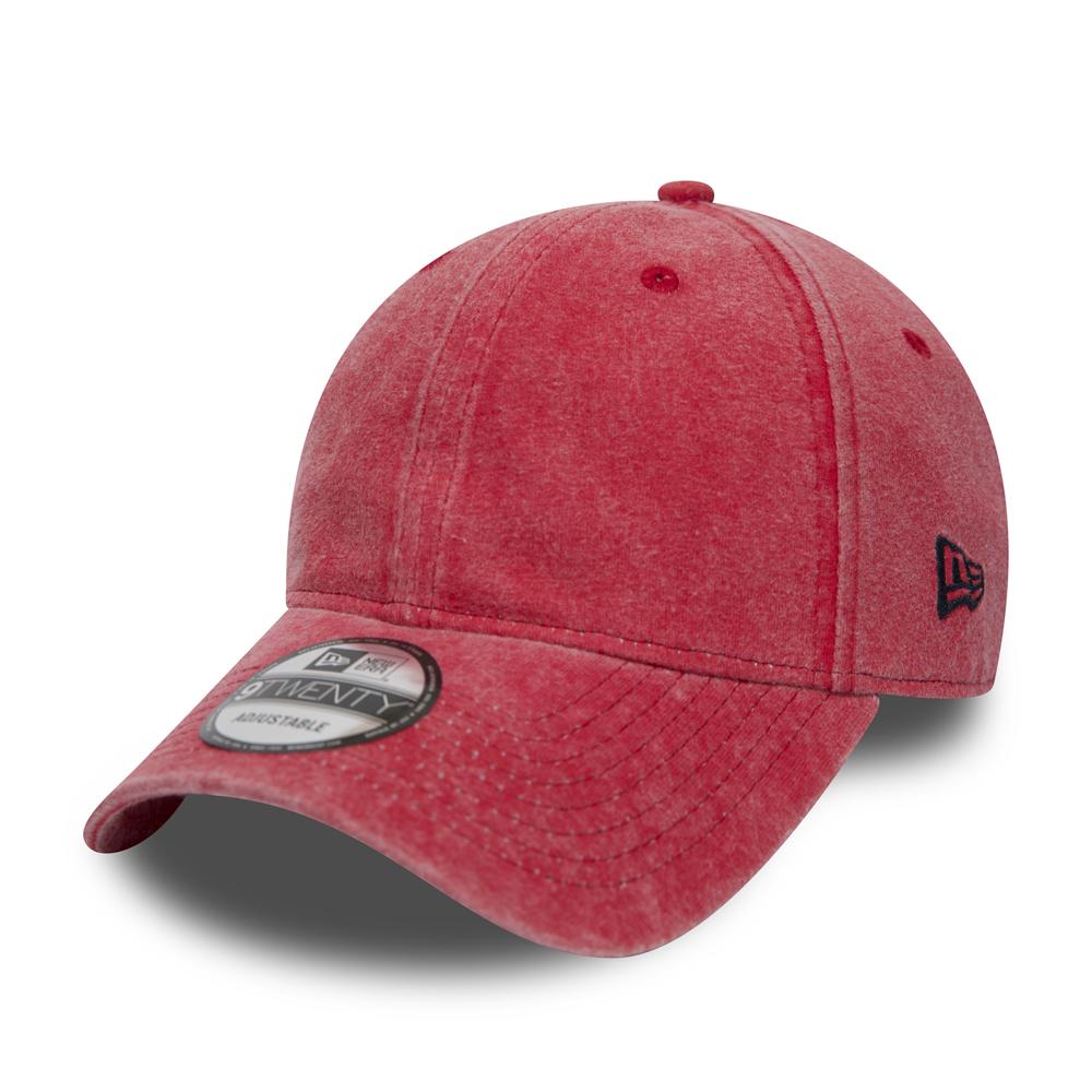 New Era Washed Jersey 9TWENTY, rojo