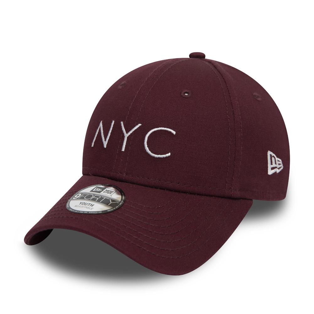 New Era – 9FORTY – NYC Essential – Rot – Kinder 0cb7b458701c