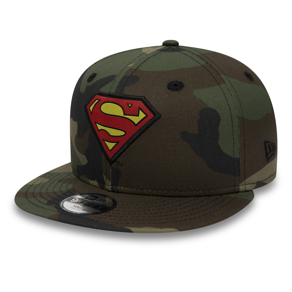 9FIFTY Snapback – Camo mit Superman-Figur – Kinder 6f2d651d405f