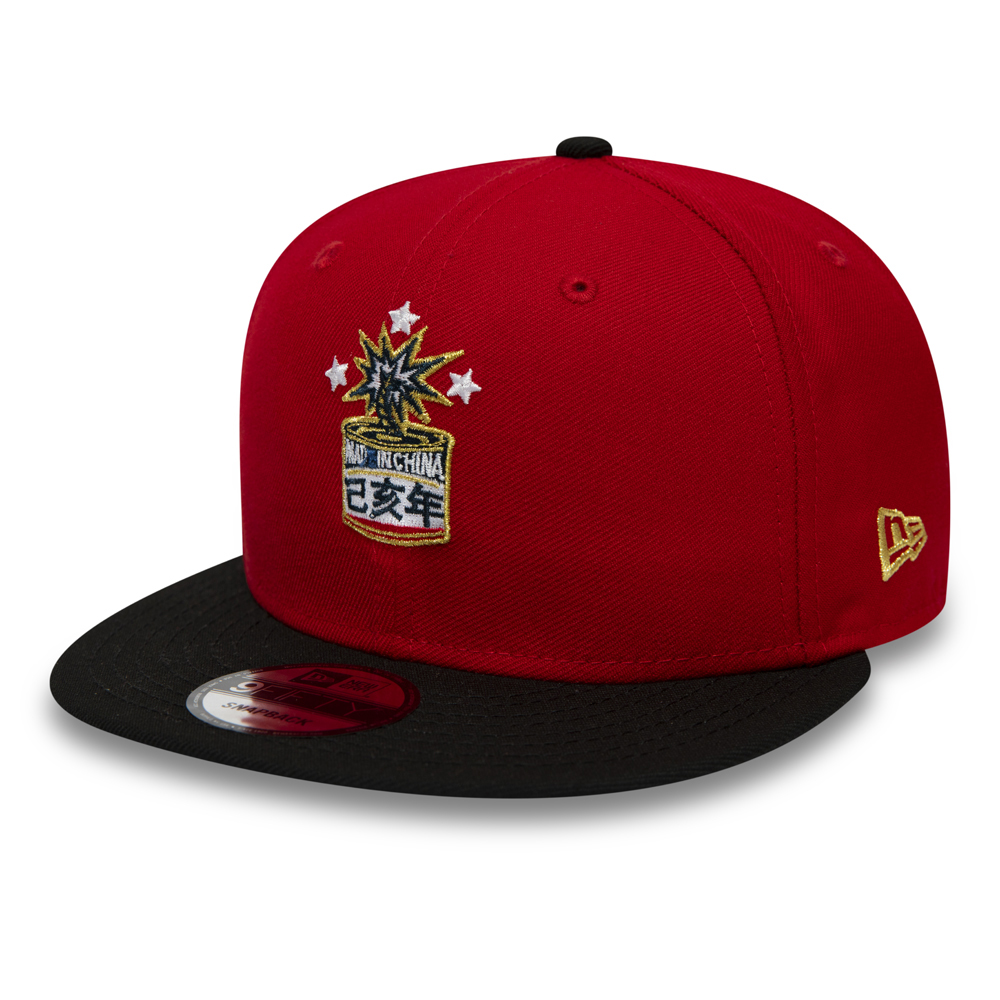b55440faad5 New Era Chinese New Year Red 9FIFTY Snapback