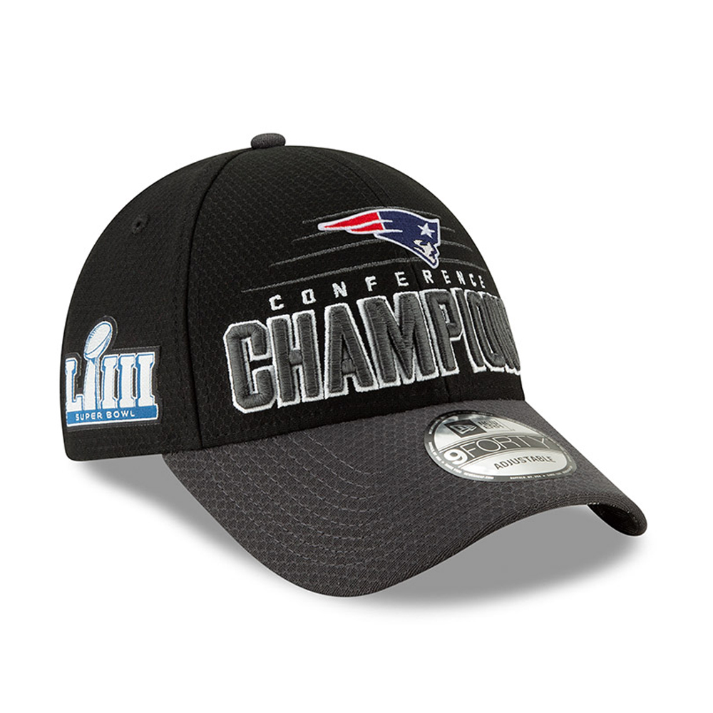 New England Patriots 2019 Conference Champion 9FORTY Snapback e21594875