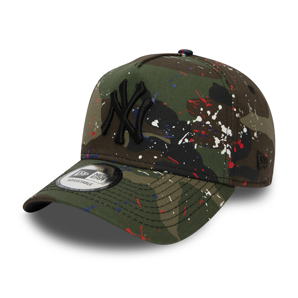 New York Yankees Splash Camo A Frame Trucker a7cb6583834