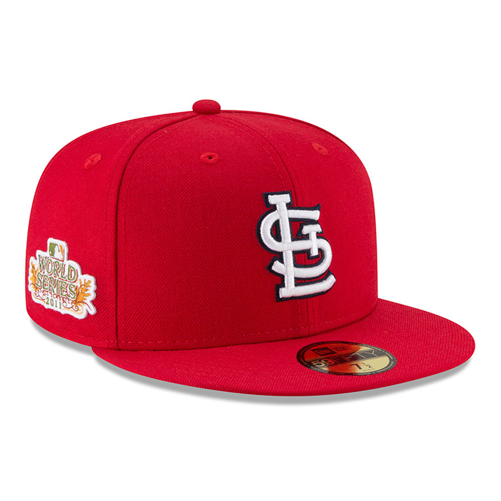 59FIFTY – St. Louis Cardinals – 2011 World Series – Side Patch