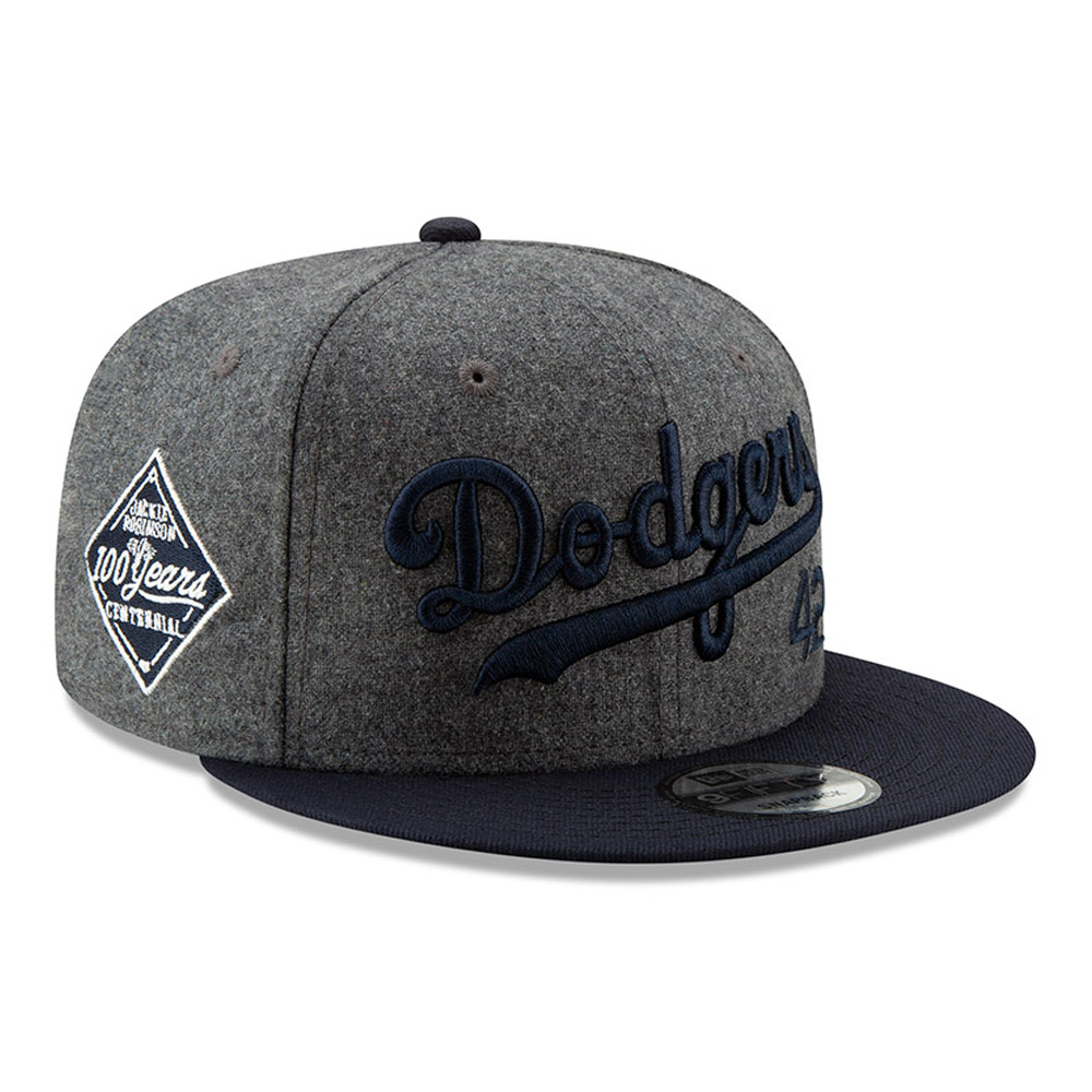 7deb746567f4f Jackie Robinson 100 Years Side Patch 9FIFTY Snapback