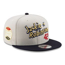 Jackie Robinson 100 Years Side Patch 9FIFTY Snapback, piedra