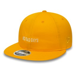 New Era x Universal Works Retro Crown 9FIFTY Snapback, amarillo