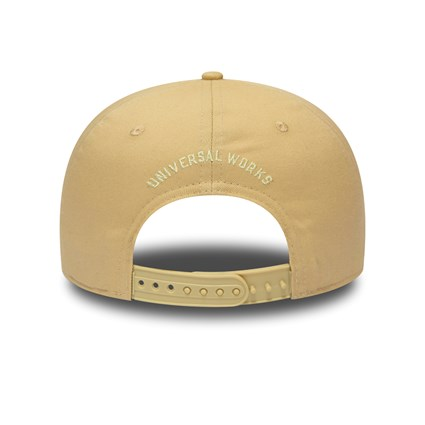 New Era x Universal Works Beige Retro Crown 9FIFTY Snapback