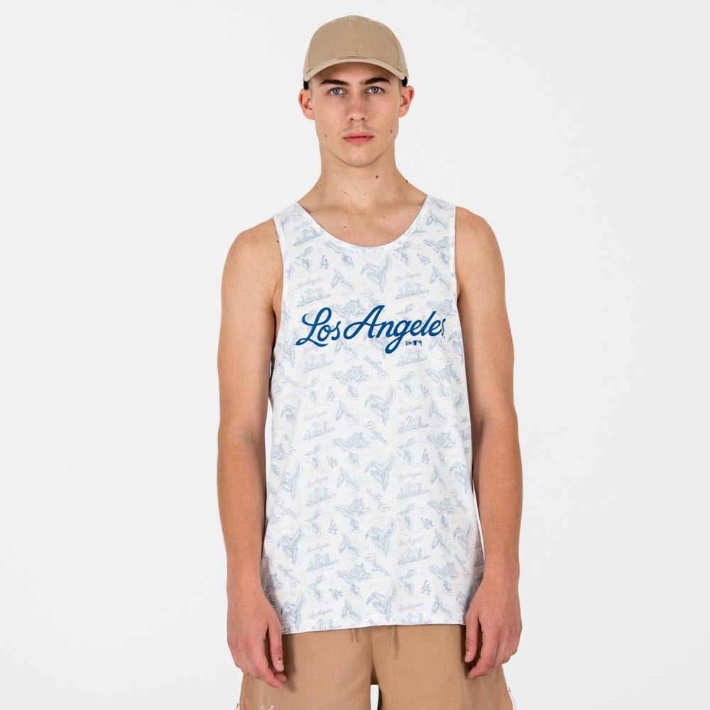 Camiseta de tirantes Los Angeles Dodgers allover Print