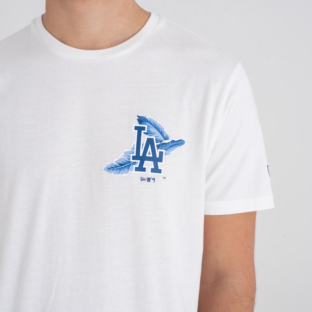 Los Angeles Dodgers Print Logo – T-Shirt – Weiß