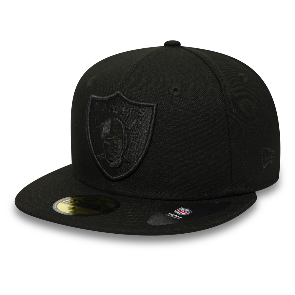 Oakland Raiders Poly Tone 59FIFTY ace39352929