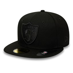 Oakland Raiders Poly Tone 59FIFTY c340615e57d7