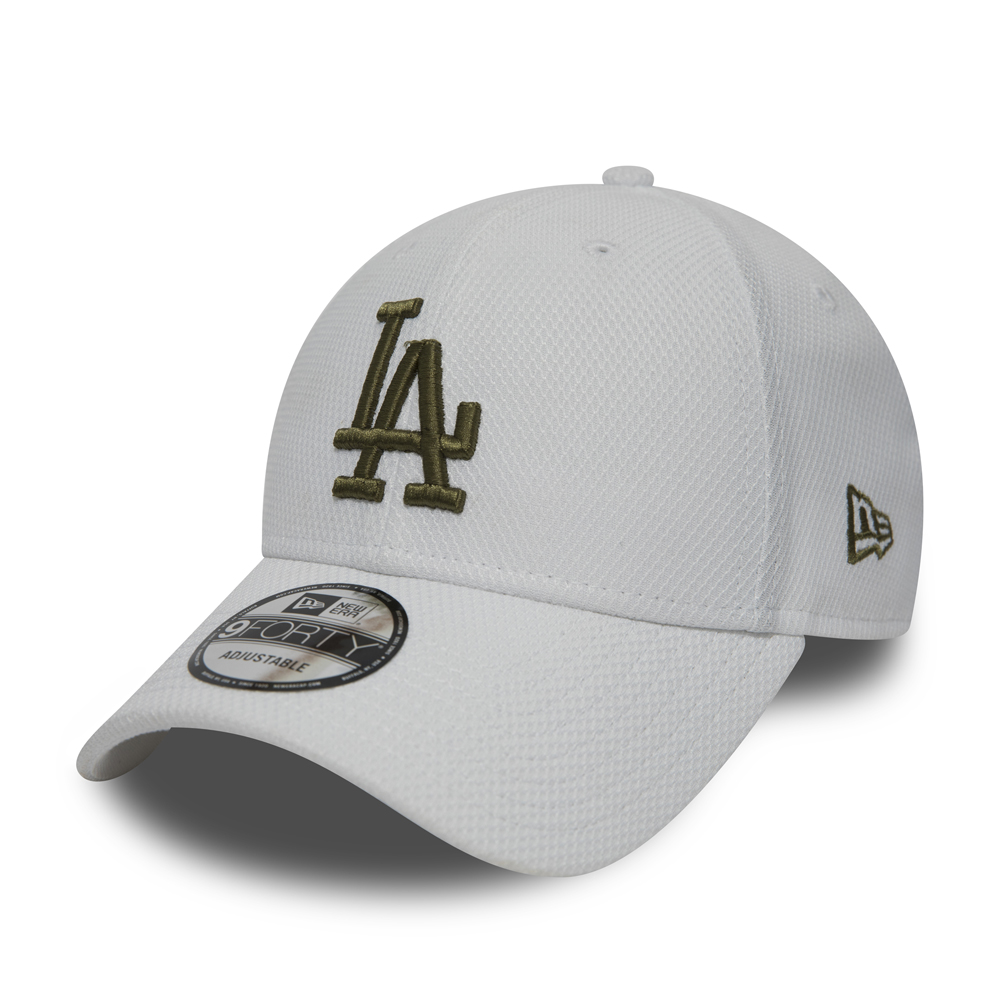 Los Angeles Dodgers Diamond Era White 9FORTY e6d81becbf