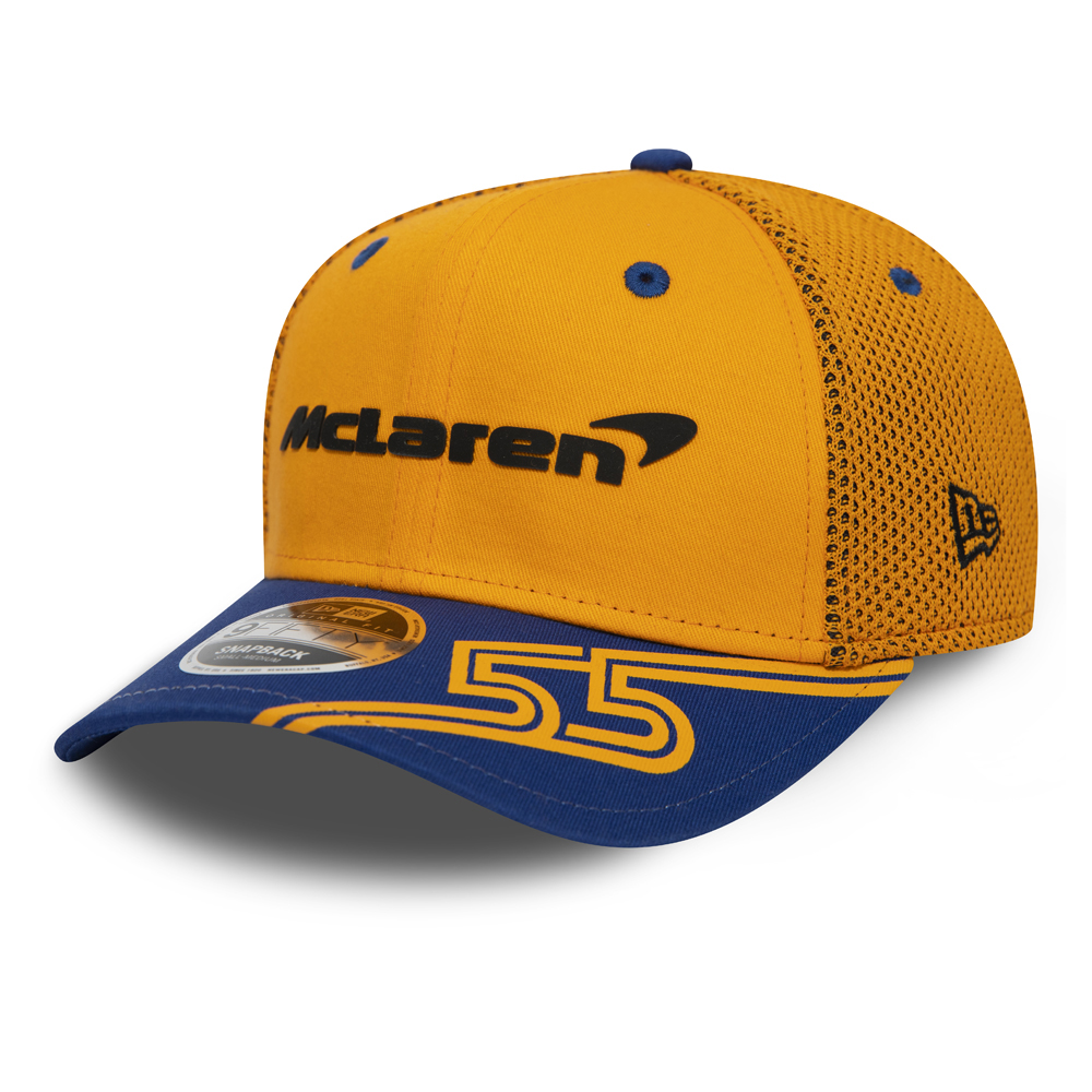 9FIFTY Snapback – McLaren Official 2019 – Sainz – Stretch Snap