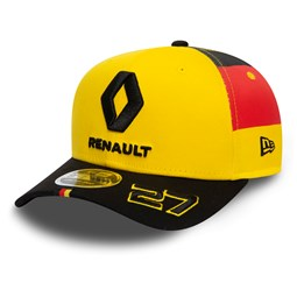 Renault F1 Hulkenberg Stretch 9FIFTY Snapback avec drapeau allemand