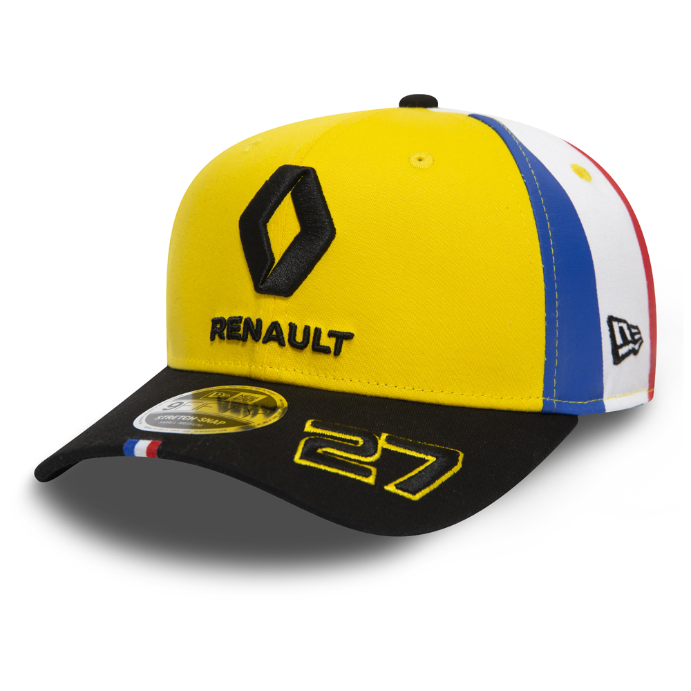 big sale 35f9a 8f37b New. Renault F1 Hulkenberg French Flag Stretch Snap 9FIFTY Snapback
