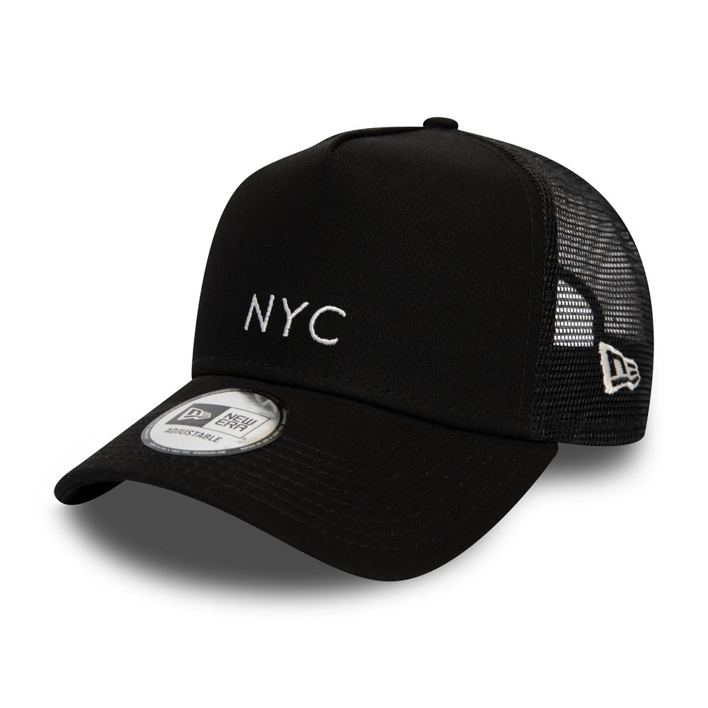 Casquette Trucker New Era NYC mi-droite