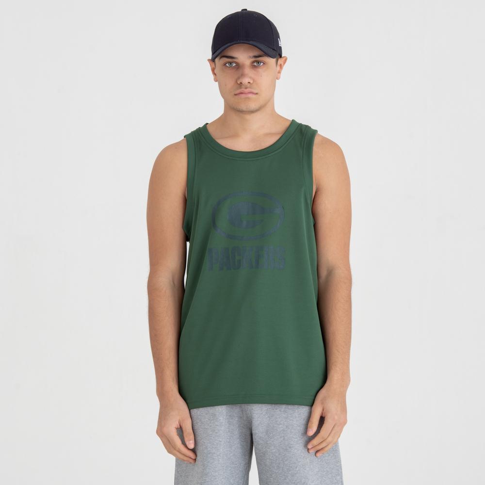 Green Bay Packers – Trägershirt mit Ton-in-Ton-Logo