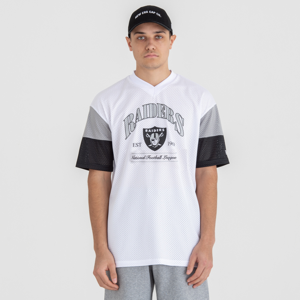 Oakland Raiders NFL Established Team White Tee