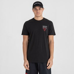 Chicago Bulls Neon Lights Black Tee