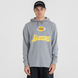 Sudadera estilo pulóver con panel en contraste Los Angeles Lakers