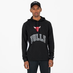 Chicago Bulls Contrast Panel Pullover Hoodie