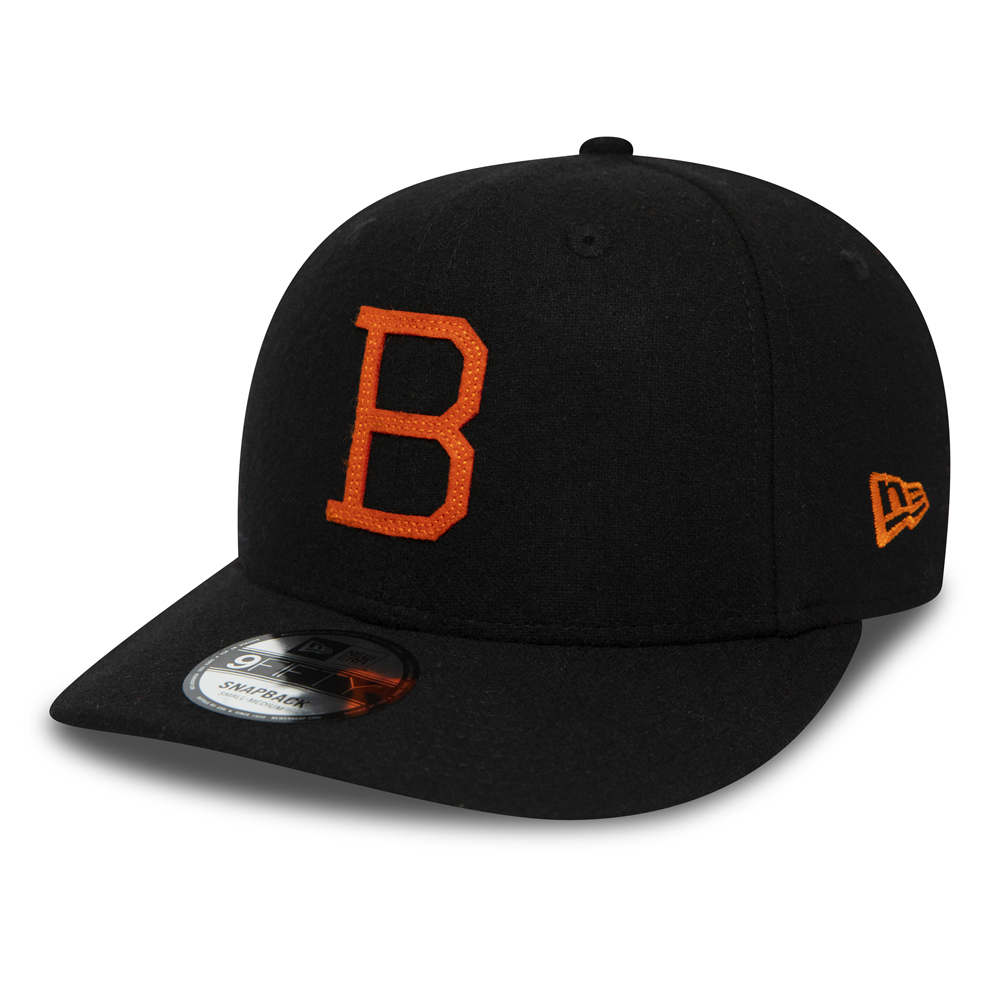 9FIFTY Snapback – Baltimore Orioles Coopers Town Flannel Pre-Curved