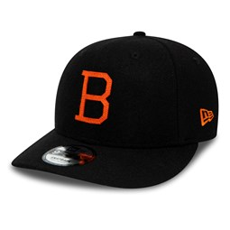 Baltimore Orioles Coopers Town Flannel Pre-Curved 9FIFTY Snapback