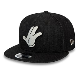 Street Mickey Mouse Denim Original Fit 9FIFTY Snapback, negro