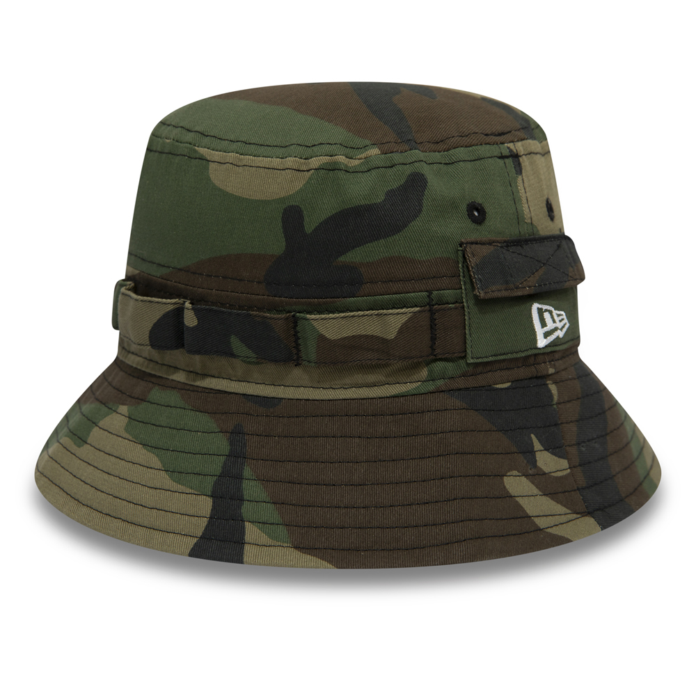 e9acb79ac13 New Era Explorer Woodland Camo Bucket