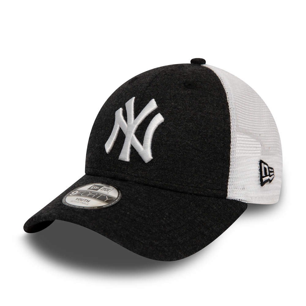 New York Yankees Home Field 9FORTY noir enfant