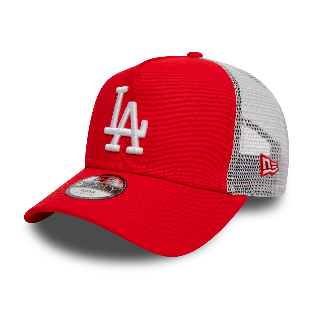 competitive price 401fb 06e32 Los Angeles Dodgers Kids Essential Scarlet A Frame Trucker