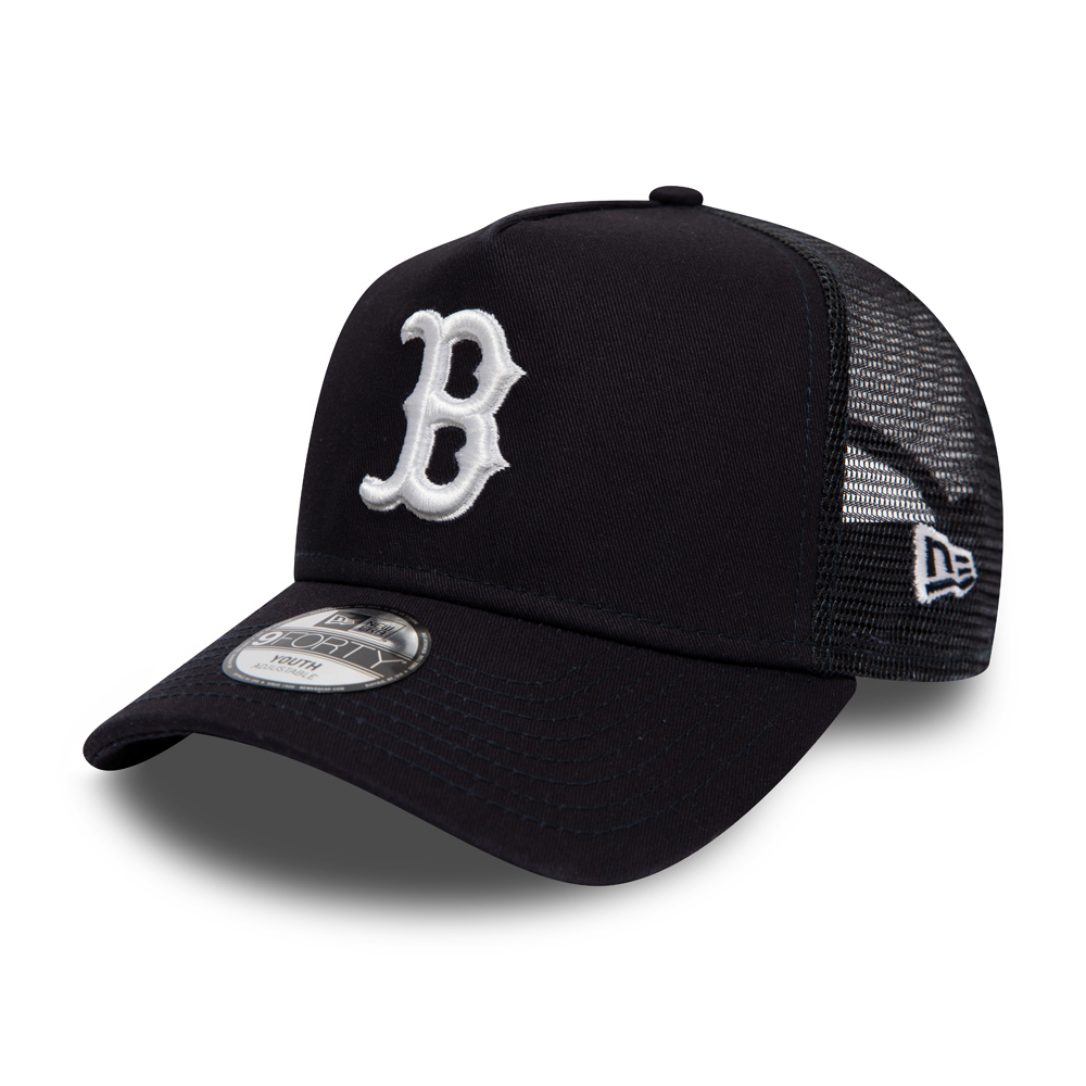Boston Red Sox Kids Essential Navy A Frame Trucker