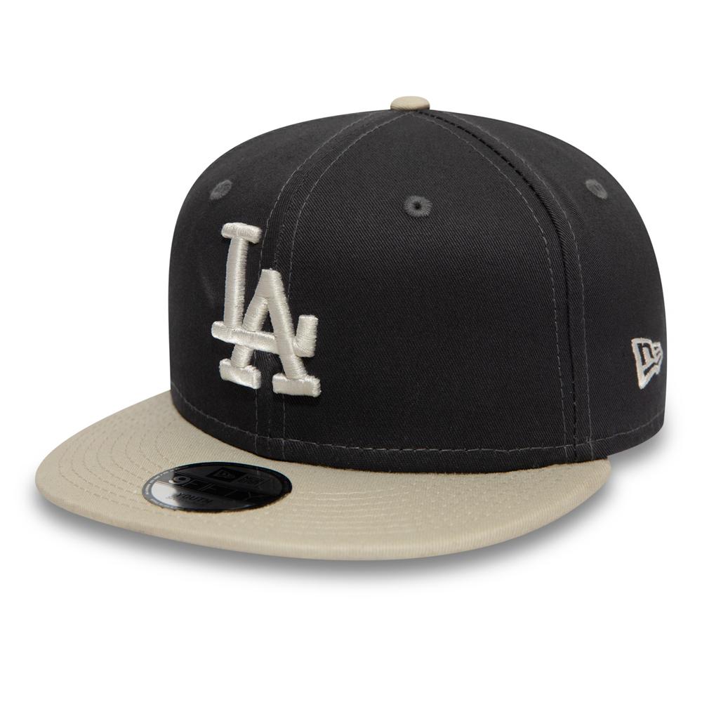 Los Angeles Dodgers Essential 9FIFTY Snapback niño, grafito