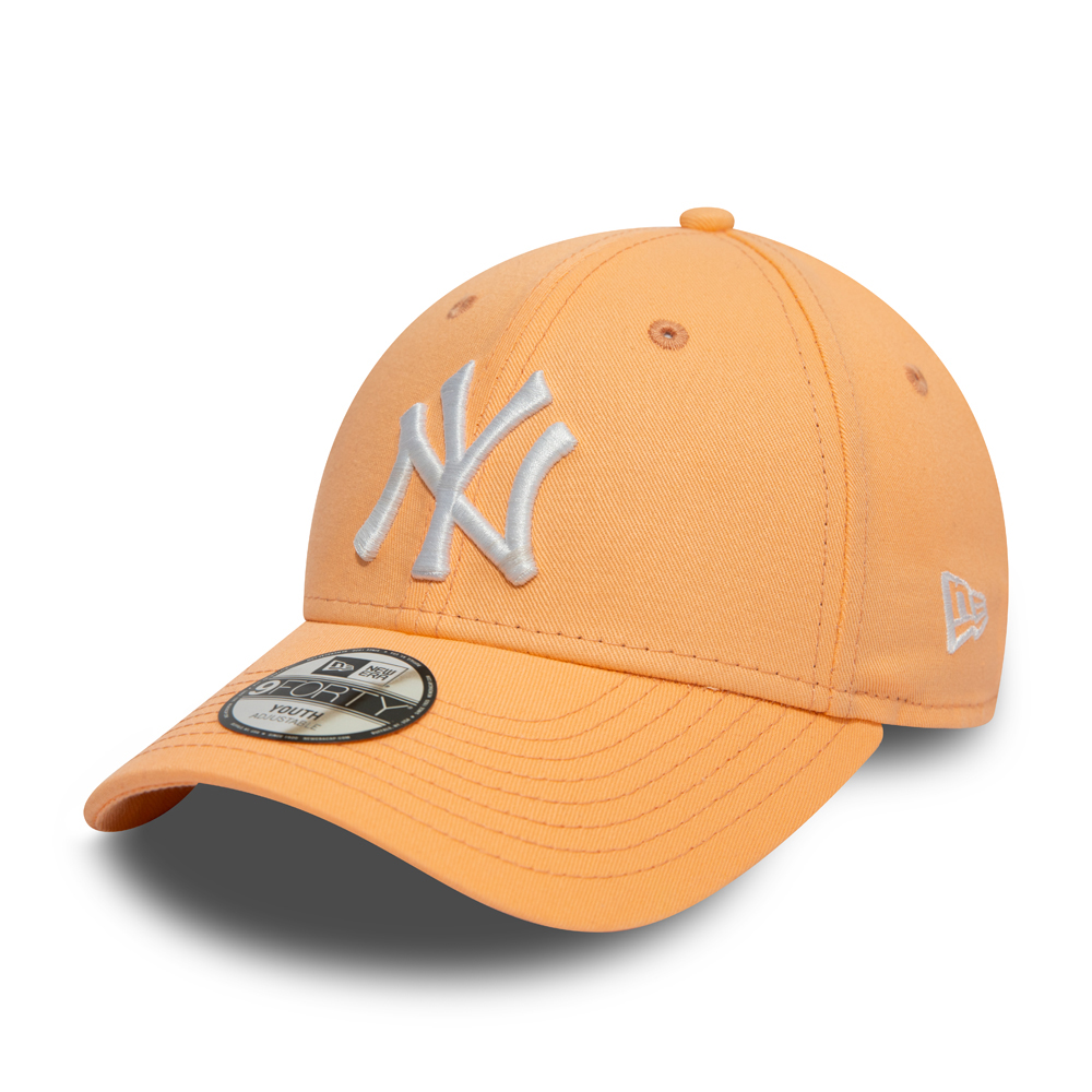 low priced aa02b 0d29e New York Yankees Essential Kids Peach 9FORTY