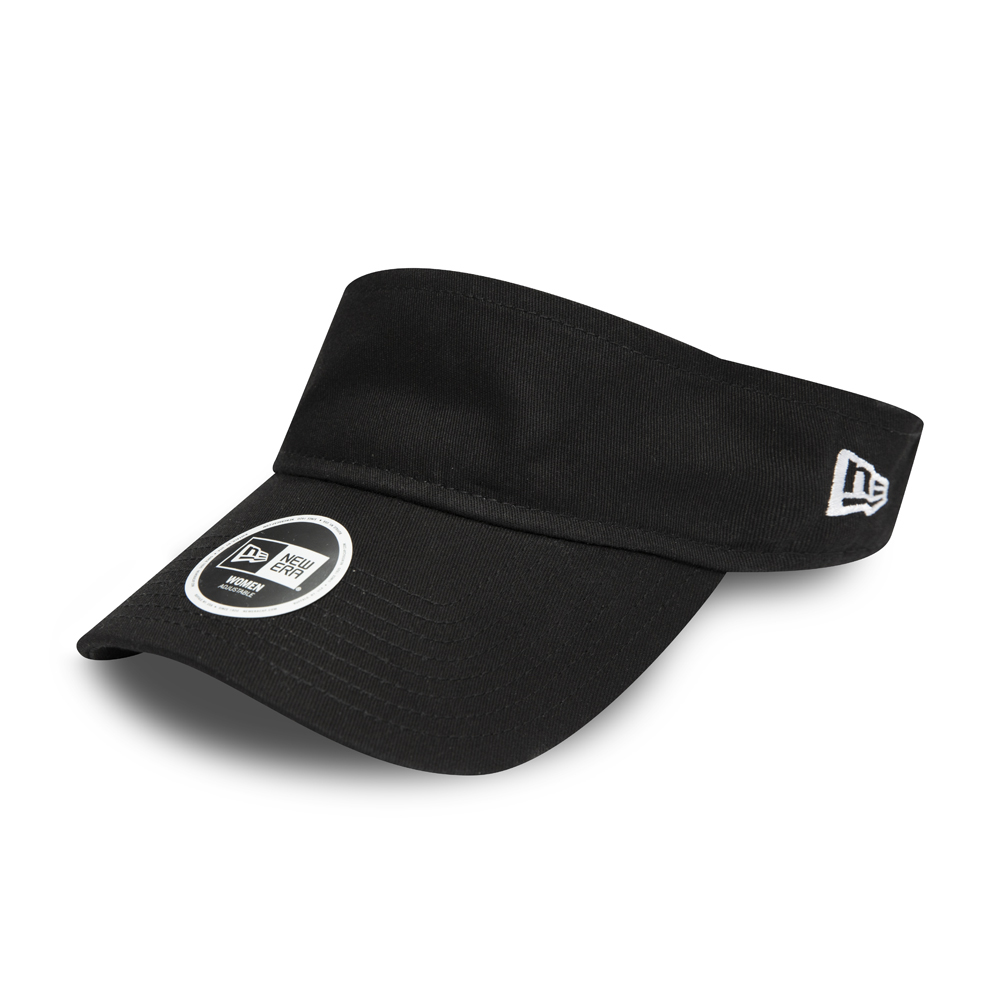 New Era Womens Essential Black Visor