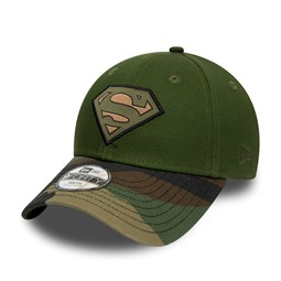 Superman Woven Patch 9FORTY niño, woodland camo