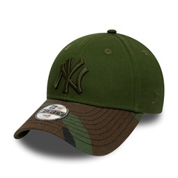 New York Yankees Kids Woodland Camo 9FORTY