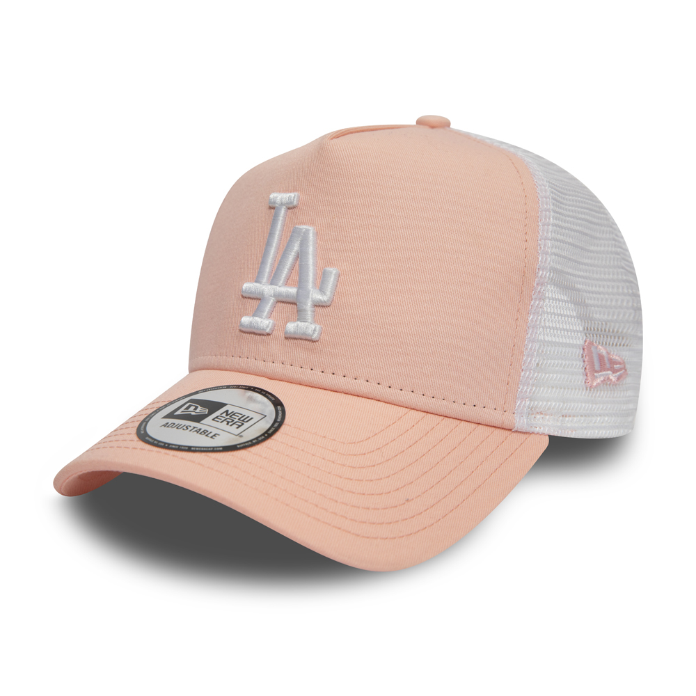 8e51c6fbc Los Angeles Dodgers Essential Pink A Frame Trucker